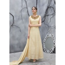 IMPORTED FABRIC GOWN